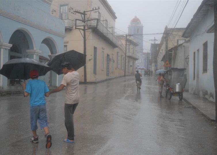 sancti spiritus, intensas lluvias, pronostico del tiempo, sequia