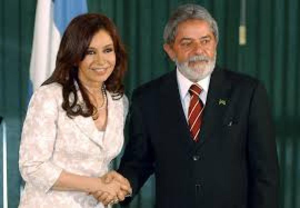 Cristina Fernández y Luiz Inacio Lula da Silva son blancos de la derecha corporativa en sus países.