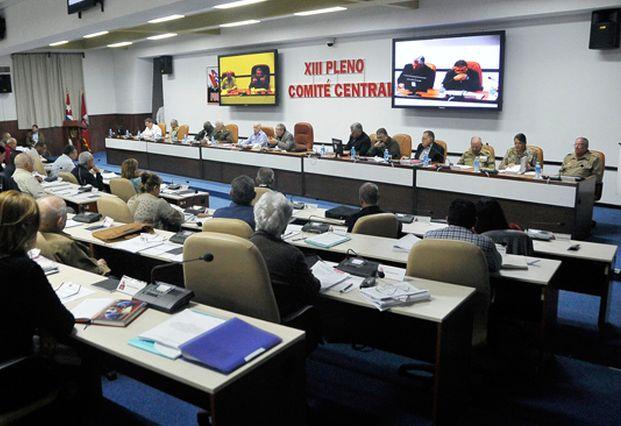 cuba, comite central, congreso del partido comunista de cuba