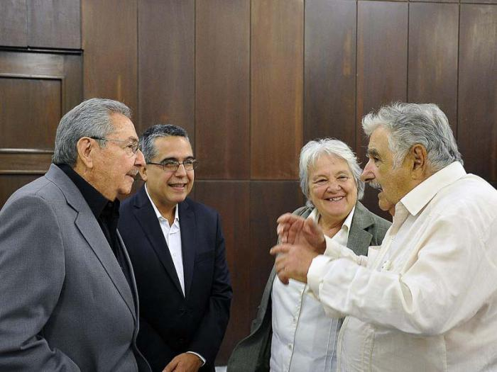cuba, uruguay, jose mujica, raul castro