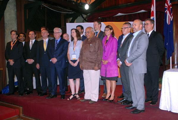 Empresarios australianos y cubanos participaron en un Foro de Negocios realizado en La Habana. (Foto PL/ACN)