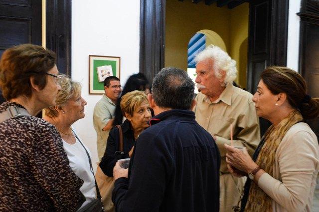 Víctor Echenagusía retoma su quehacer como museólogo en esta propuesta. (Foto: Carlos Luis Sotolongo/Escambray)