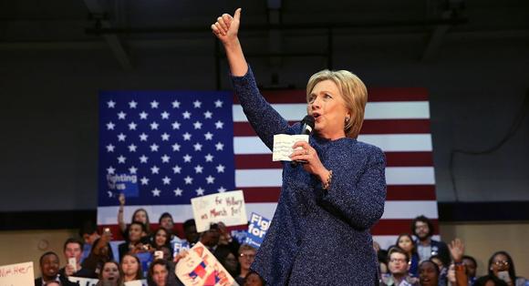 Con esta victoria, Clinton fortaleció sus posiciones en la campaña a pocos días del 1 de marzo, el llamado Super Martes.