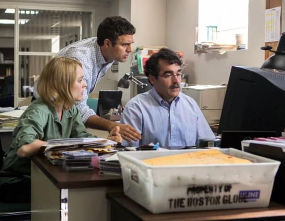 Spotlight se llevó también la estatuilla al mejor guion original.
