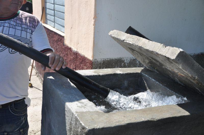 abastecimiento agua Sancti Spiritus