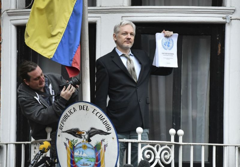 julian assange, wikileaks, ecuador, anu