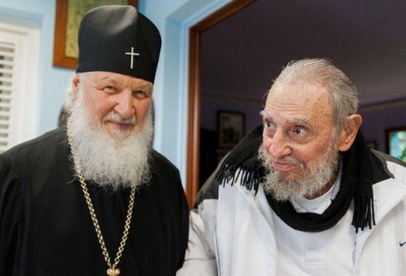 cuba, fidel castro, patriarka kirill