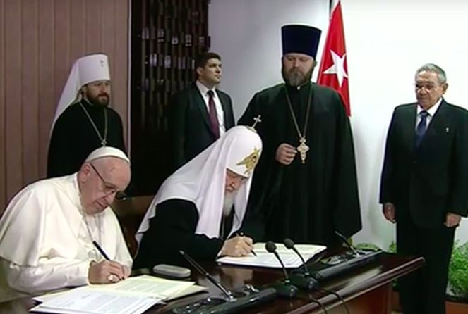 cuba, papa francisco, patriarca kirill, raul castro, iglesia ortodoxa rusa