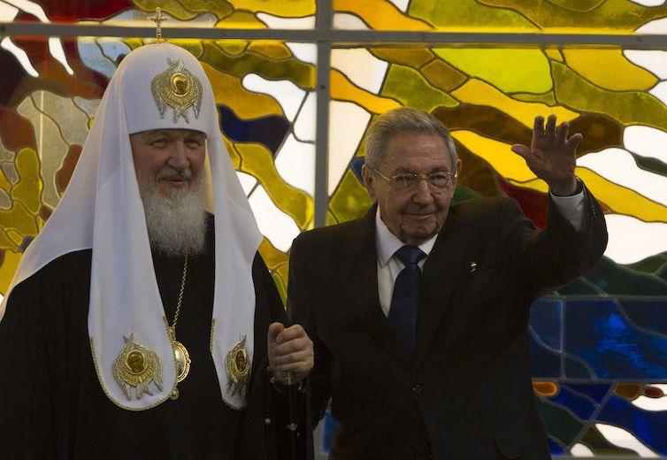 cuba, raul castro, patriarca kirill, iglesia ortodoxa rusa,  papa francisco