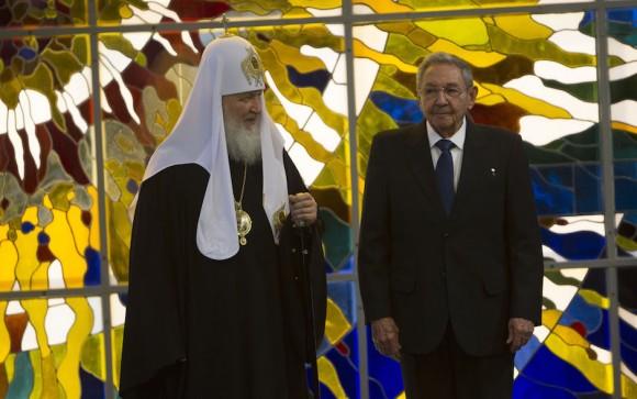 cuba, raul castro, patriarca kirill, iglesia ortodoxa de rusia, papa francisco
