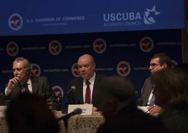cuba- estados unidos, comercio exterior, inversion extranjera, rodrigo malmierca