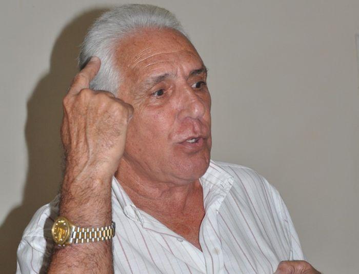 Marcos Álvarez, jefe del departamento de catastro e información en la Dirección Provincial de Planificación Física.