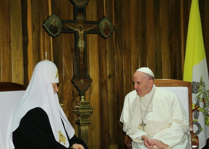 cuba, papa francisco, patriarca kirill, iglesia ortodoxa de rusia