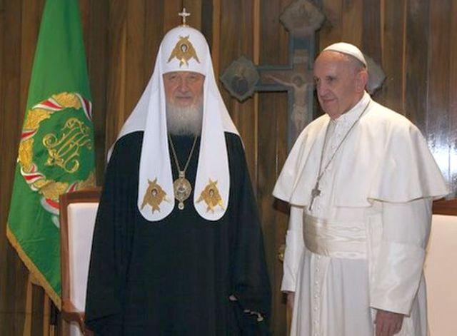 papa francisco, cuba, la habana, patriarca kirill, iglesia ortodoxa rusa