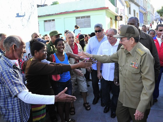 cuba, raul castro, presidente cubano, santiago de cuba