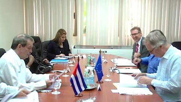 La VII ronda de negociaciones del Acuerdo de Diálogo Político y Cooperación entre Cuba y la Unión Europea culminó en La Habana. (Foto: CubaMINREX)
