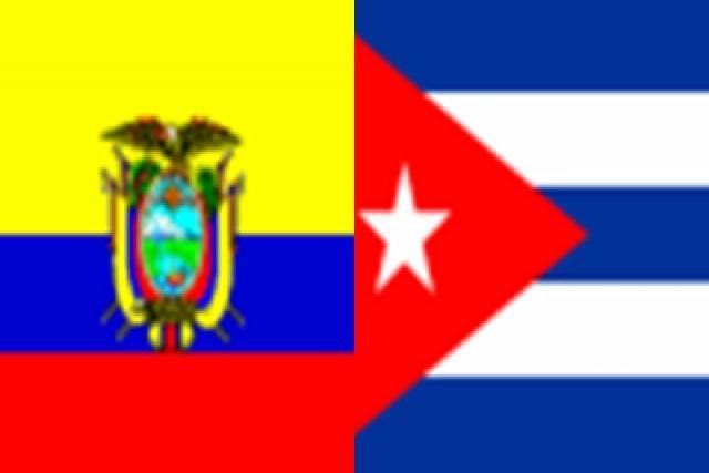 La colaboración cubana en Ecuador abarca las áreas de servicios médicos, educación, biotecnología, deporte y la agricultura.
