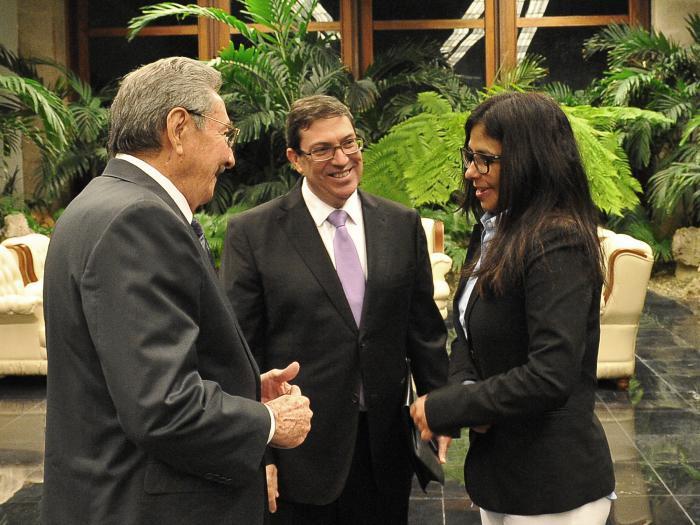 Ambas partes dialogaron sobre la marcha de las relaciones bilaterales y  diversos temas de la agenda regional e internacional. (Foto: Estudios Revolución)