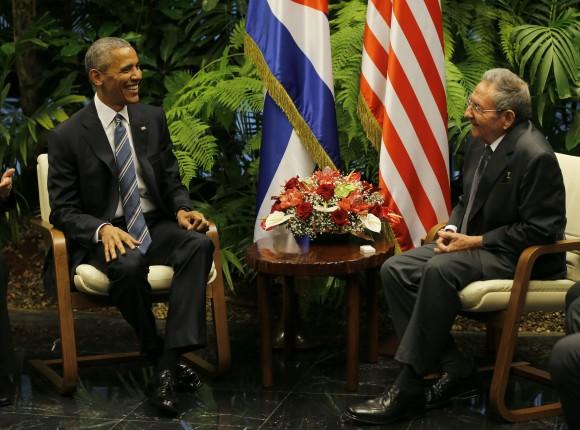 En Estados Unidos se reiteran las opiniones de respaldo a la histórica visita que realiza a Cuba Barack Obama. (Foto ACN)