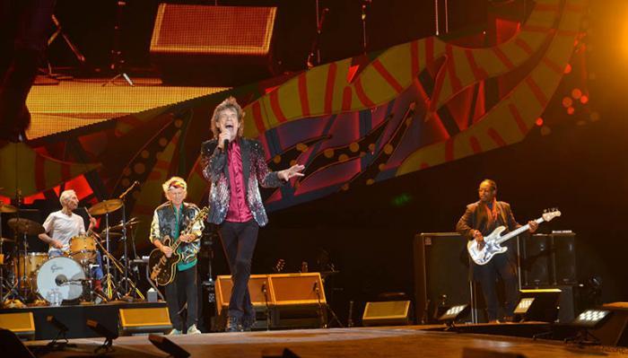 Los Rolling Stones reunieron a cientos de  miles de personas en un espectacular concierto de más de dos horas.