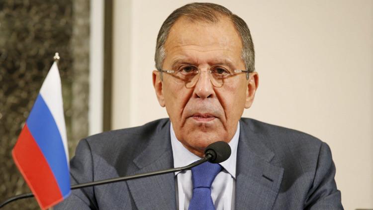 Lavrov reiteró la oposición de Rusia al bloqueo estadounidense contra el pueblo cubano.