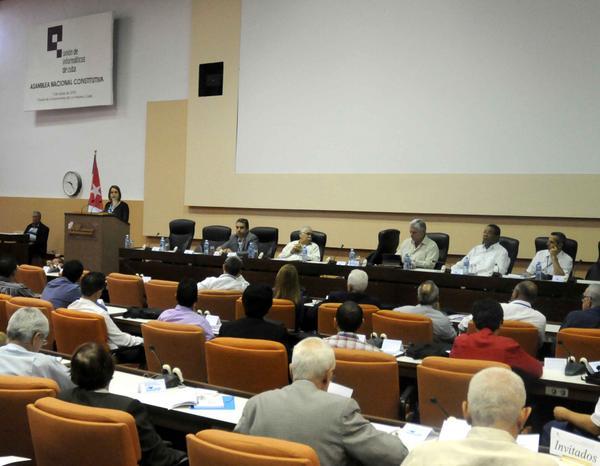 La Unión de Informáticos de Cuba quedó oficialmente constituida este lunes. (Foto ACN)