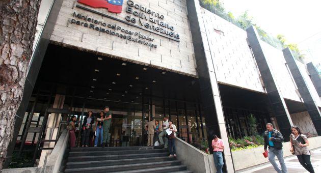 Venezuela rechaza las declaraciones por constituir una franca intromisión en la vida política de nuestra Patria, aseguró la Cancillería. (Foto AVN)