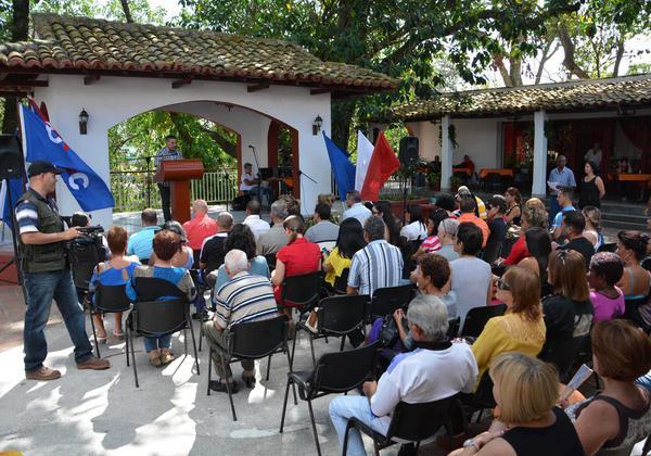 Sancti Spíritus, prensa cubana, dia de la prensa cubana, union de periodistas de cuba, upec, periodistas, el 10 de Marzo de 2016. ACN FOTO/ Oscar ALFONSO SOSA/ rrcc