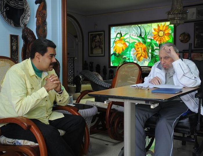 cuba, venezuela, nicolas maduro, fidel castro