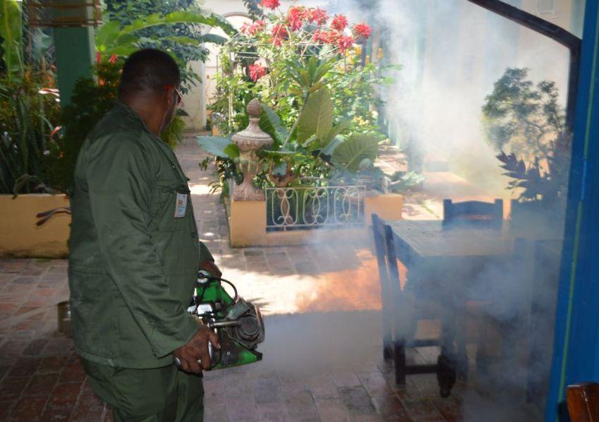 sancti spiritus, trinidad,  aedes aegypti, fumigacion, zika