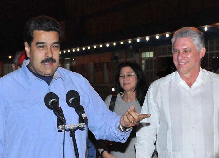 cuba, venezuela, nicolas maduro, raul castro, miguel diaz-canel