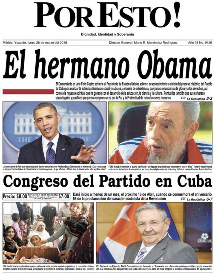 cuba, fidel castro, barack obama, obama en cuba, relaciones cuba-estados unidos