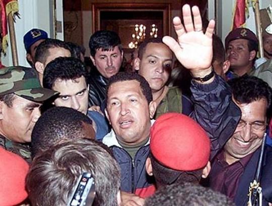 El golpe de estado de abril de 2002 fue frustrado en menos de 72 horas.