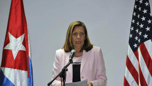 Josefina Vidal, directora general de Estados Unidos en la Cancillería cubana.