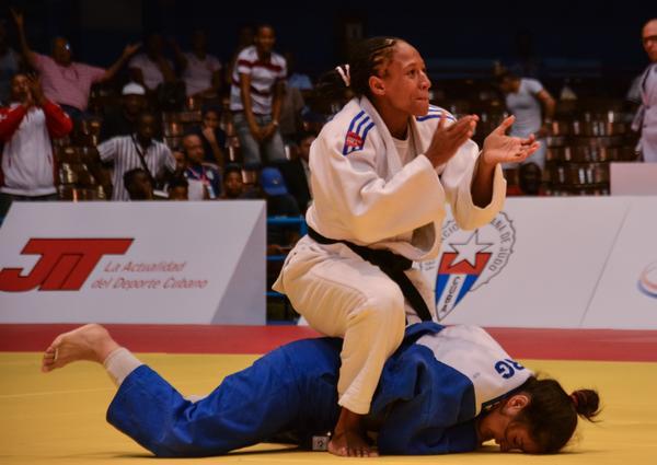 Gretel Romero se llevó una importante presea en el Panamericano de Judo. (Foto ACN)