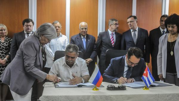 El acuerdo constituye un paso más en la participación efectiva de la nación rusa en el programa de desarrollo económico y social de Cuba. (Foto ACN)