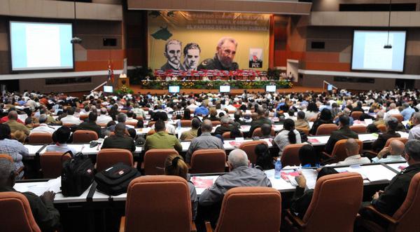 El VII Congreso del PCC concluye este martes sus sesiones. (Foto ACN)