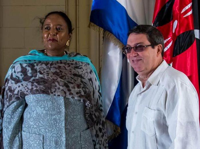 cuba, kenya, bruno rodriguez, ministro de relaciones exteriores