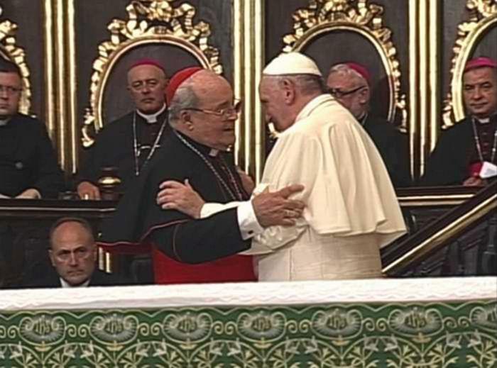 cuba, papa francisco, jaime ortega, iglesia