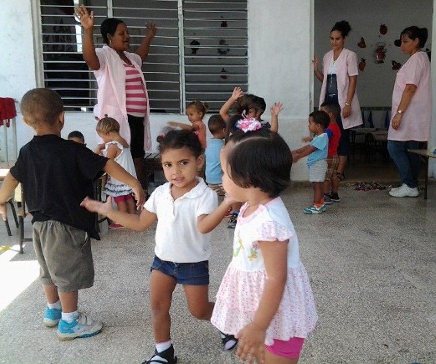 Los Círculos Infantiles nacieron hace 55 años, por iniciativa de Vilma Espín. (Foto: Delia Proenza)