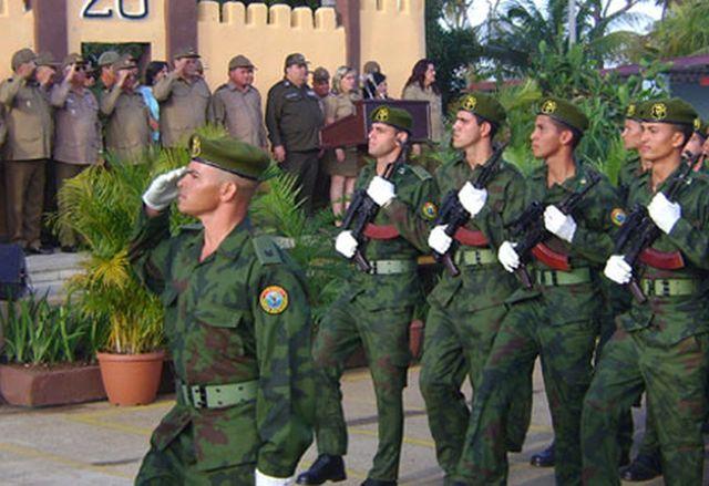 cuba, raul castro, ejercito central, far, fuerzas armadas revolucionarias