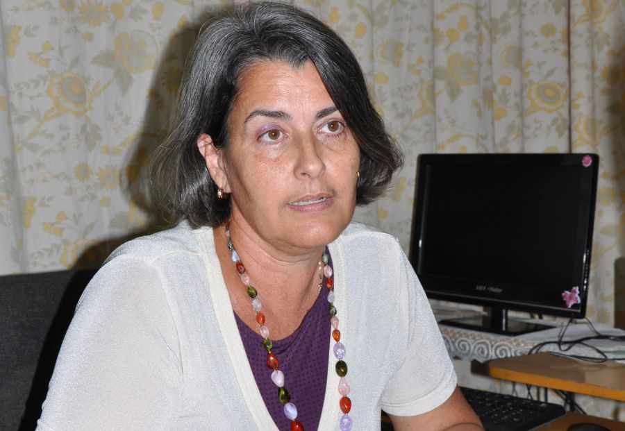 María Esmeralda Pérez Pérez, jefa del Departamento de Procesos Penales de la Fiscalía Provincial. (Foto Vicente Brito/Escambray)