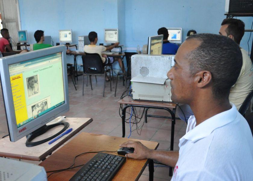 sancti spiritus, educacion, educacion cubana, internet, intranet