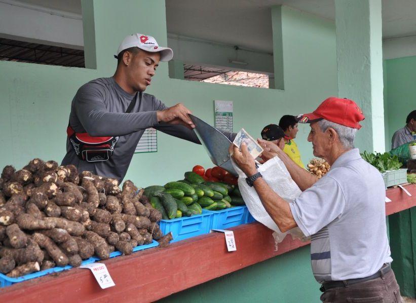 sancti spiritus, precios alimentos, productos agricolas