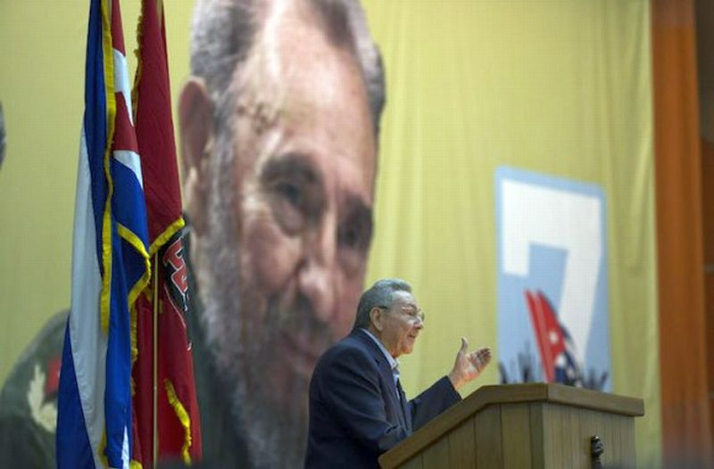 cuba, raul castro, VII congreso del partido comunista de cuba, VII congreso del pcc, economia cubana