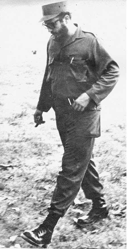 Fidel Castro en Trinidad, 13 de agosto de 1959