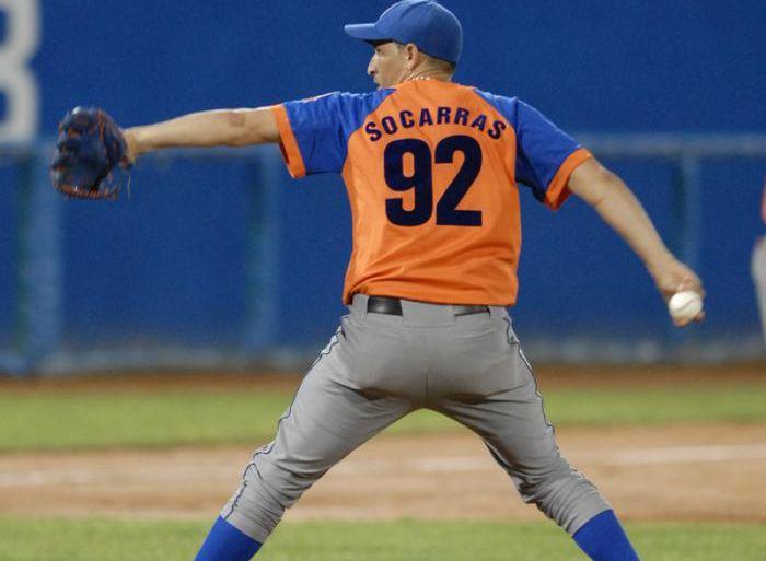 Socarrás es el único espirituano en la preselección cubana con destino a la Liga Independiente Can-Am.