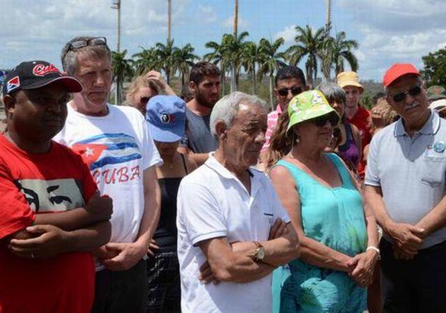 sancti spiritus, solidaridad con cuba, primero de mayo