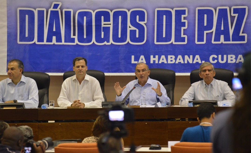 Desde 2012 representantes gubernamentales y de las FARC-EP dialogan en Cuba.