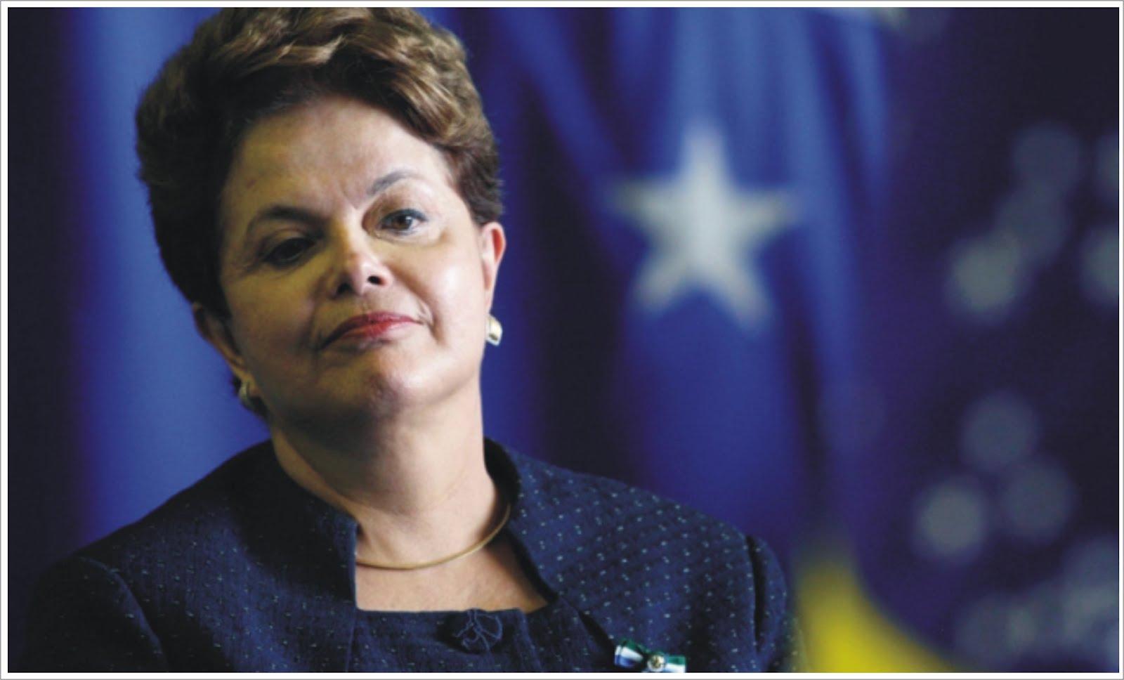 """""""La renuncia jamás pasó por mi cabeza"""", subrayó Dilma."""